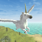 Flying Unicorn Simulator Free icon