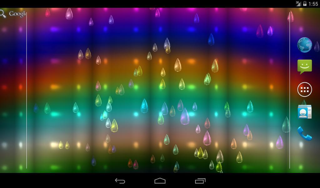 Parallax 3d Effect Wallpaper Pro Light Rain Pro Android Apps On Google Play