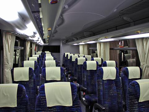中鉄バス「ハーバープリンス」 1621 車内