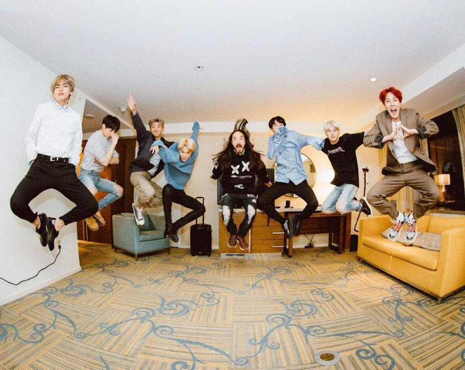 bts steve aoki waste it on me mv 1