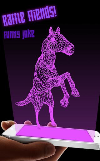 Hologram Horse Sim