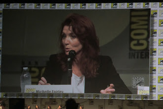 Photo: Friday - Game of Thrones panel; star Michelle Fairley