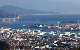 Морской порт Симидзу