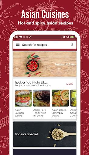 Asian Recipes 41.0.0 screenshots 1
