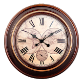 Vintage Analog Clock Widget
