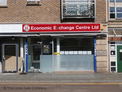 Economic exchange centre on ealing road bureaux de change in