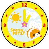 Spoon Pets -Clock- Free