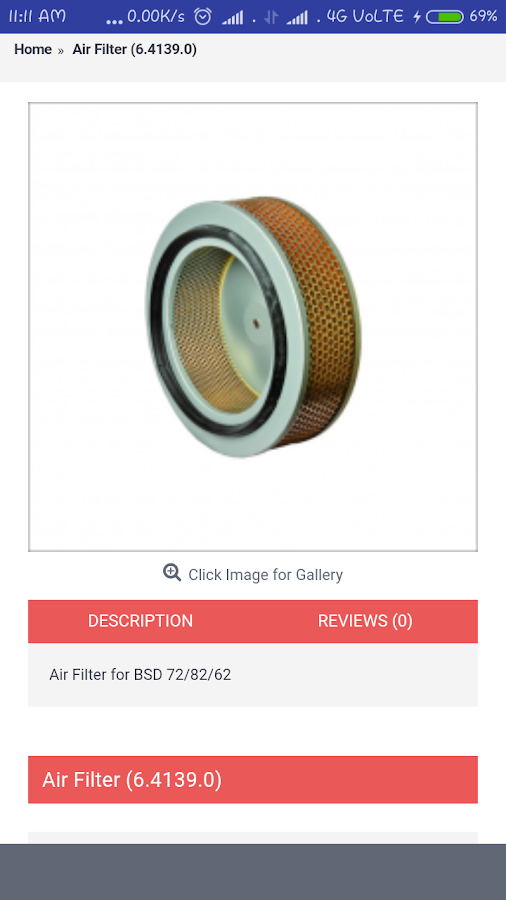 Airstrom | Screw Compressor Spares- screenshot