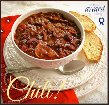 My Triple Cook-off Winning Chili Recipe