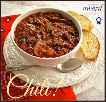 My Triple Cook-Off Winning Chili