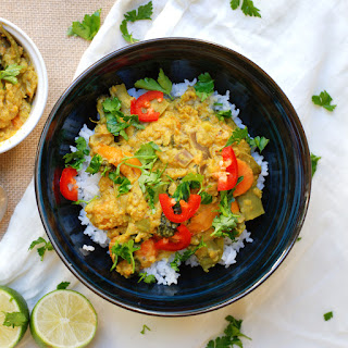 30-Minute Thai Coconut Curry Lentil Stew