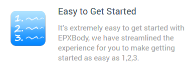 Photo: With EPX Body it's easy to get started