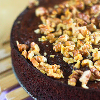 Chocolate Banana Nut Cake