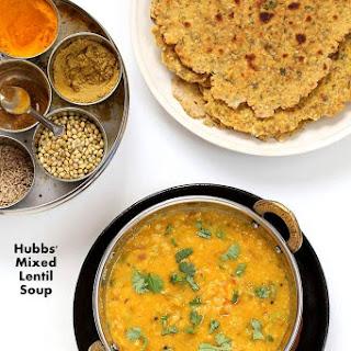 Dal Fry - Spiced Indian Lentil soup.