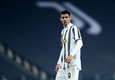 Alvaro Morata ne devrait pas être conservé par la Juventus