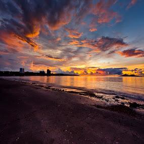 Love Like A Sunset by Johari Nasib - City,  Street & Park  Vistas