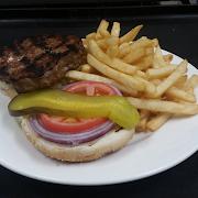 Angus Beef Burger & Fries