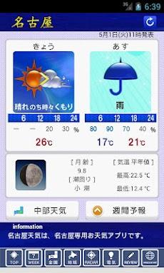 天気 予報 名古屋