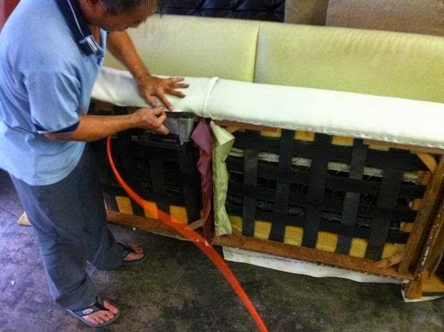 沙發車縫線皮革裂開