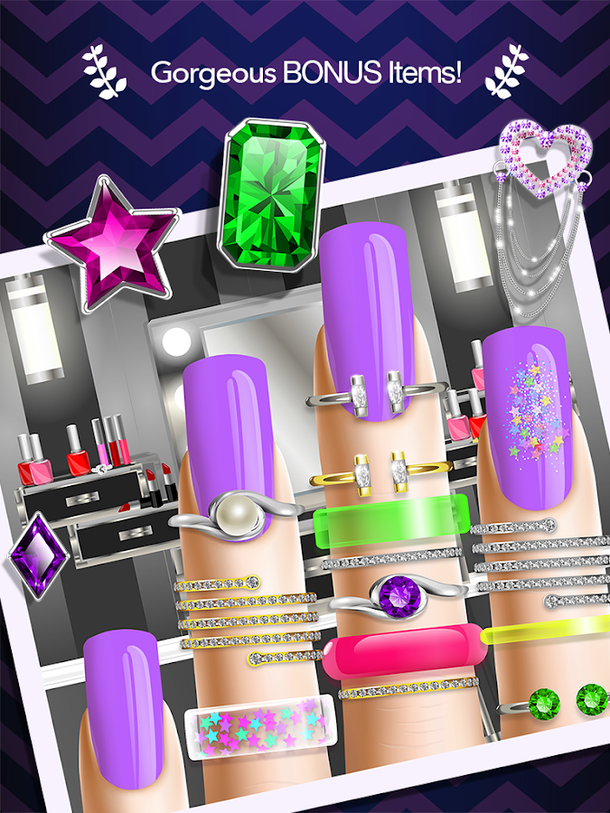 Nail salon manicure girl game android apps on google play for A nail salon game