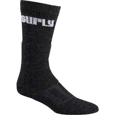 Surly Tall Logo Wool Socks