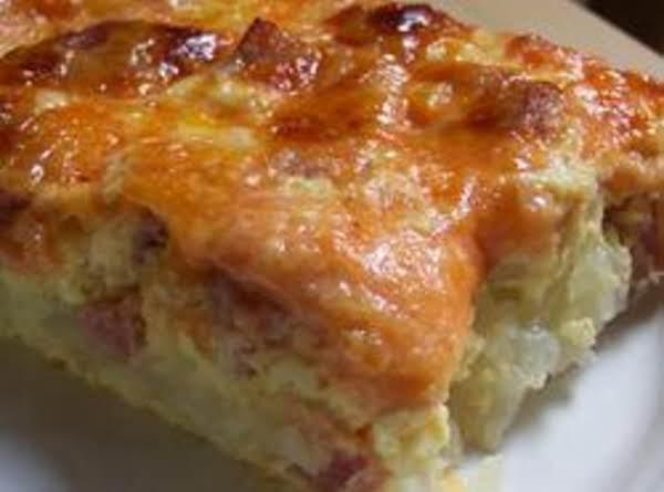 Ham Breakfast Casserole