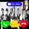 BTS Video Call : BTS Fake Video Call icon