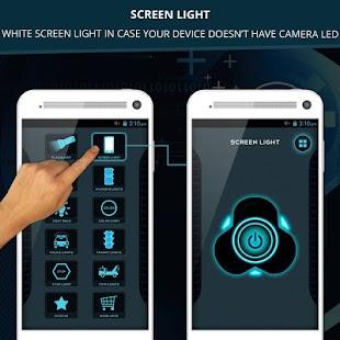 LED Flashlight + Police Sirens - náhled