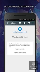 mFile Explorer Pro v1.0