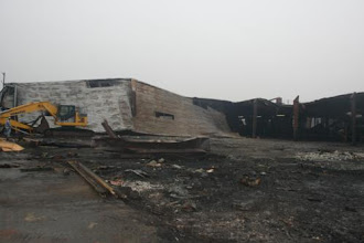 Photo: Demolition progress . Camak ,Georgia