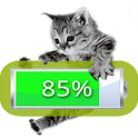 Kitten Battery Widget icon