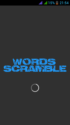 Words Scramble
