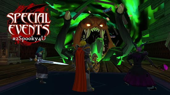 AdventureQuest 3D MMO RPG Screenshot