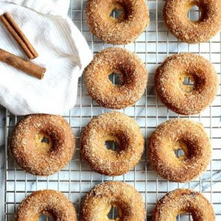 Baked Gluten-Free Apple Cider Donuts.