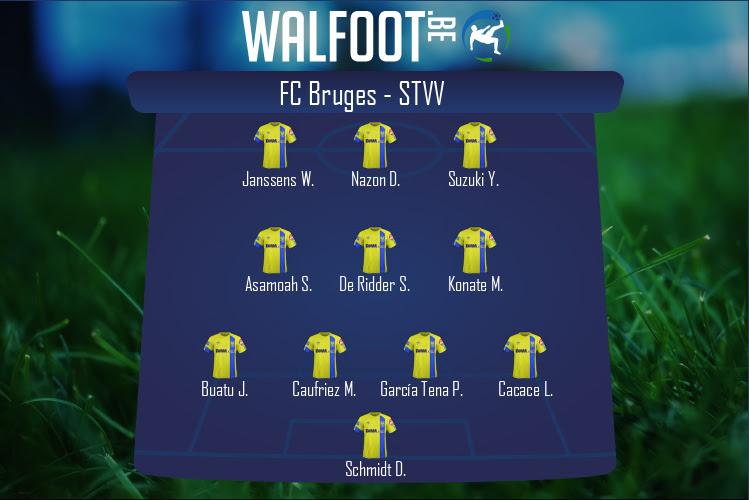 STVV (FC Bruges - STVV)