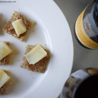 Parmhoneydatescuit {Parmesan + Honey + Date Bites}