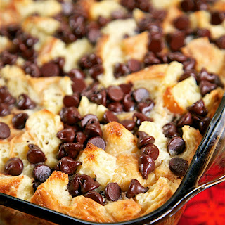 Chocolate Croissant Breakfast Bake.