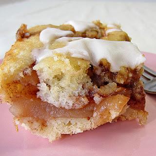 Apple Coffee Cake.
