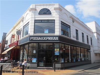 Pizzaexpress On Moulsham Street Restaurant Italian In