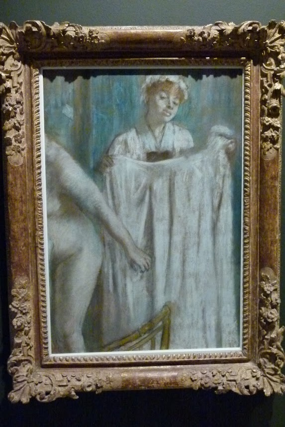 Degas - Toilette after the bath