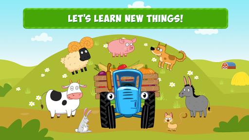 Blue Tractor: Preschool Educational Games! Apk 1