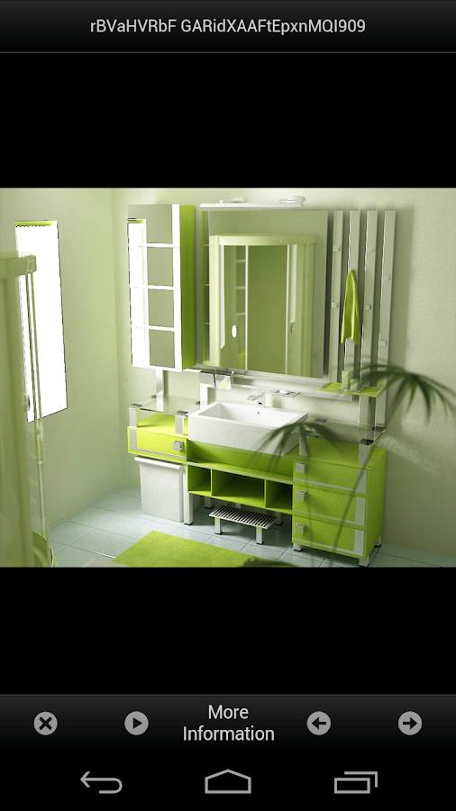Bathroom decorating ideas android apps on google play for Bathroom design simulator