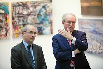Photo: Директор Института Сервантеса в Москве Жузеп Мария де Сагарра и Посол Испании в России Хосе Игнасио Карбахаль