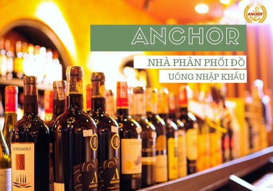 Rượu vang Pháp nổi tiếng tại Anchor