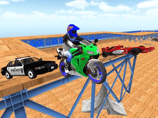 motorcycle infinity driving simulation extreme  screenshots 8