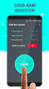 32 GB Ram Booster - One Tap Speed Booster - náhled