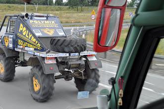 Photo: Byli jsme nejrychlejší - jedeme autobusem, který vozí hokejové Misty ČR!