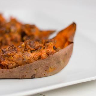 Holiday Stuffed Sweet Potato.