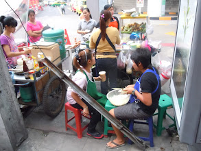 Photo: Food on the street
