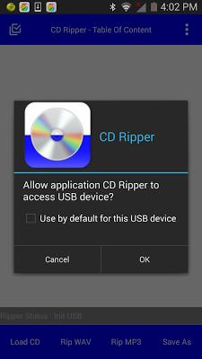 CD MP3 Ripper (Converter) - screenshot